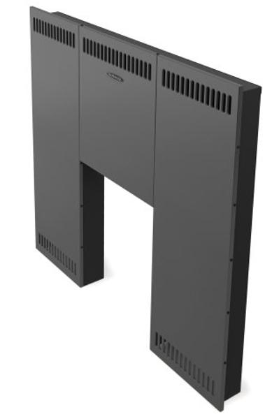 Front screen Standart for Vitra, black (32805)