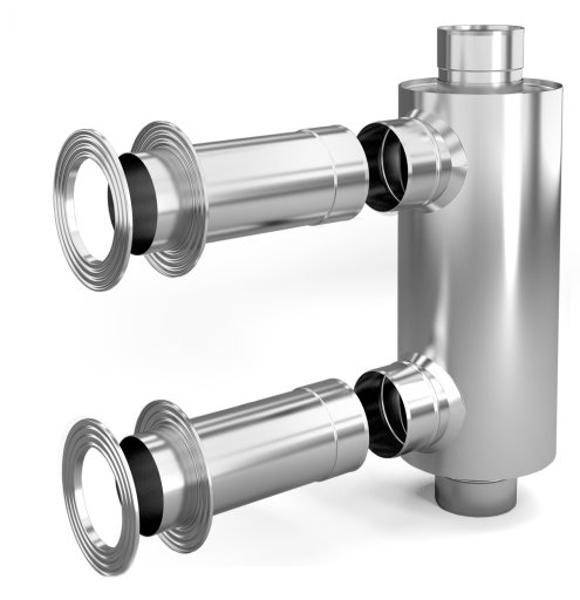 Dūmvada Konvektors d115, 1/0.5mm, 0.65m (57201)