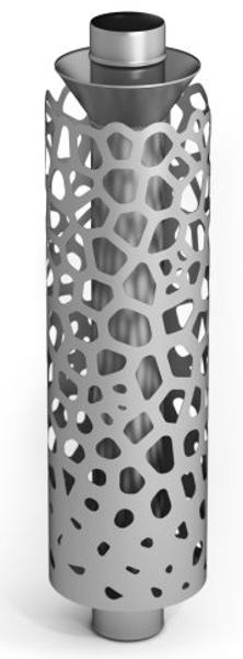 Akmeņu sildītājs Safary, Ø115, 1м, 1/1мм, n/n (92200)