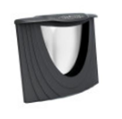 Durvis Schott Robax ar stiklu (Antracite)