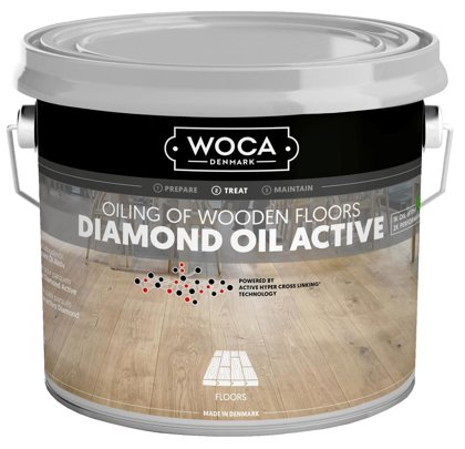 WOCA DIAMOND Oil Active (2.5l)