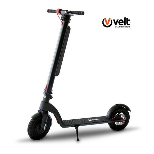Elektriskais skūteris Velt Smart Scooter X8 melns / sarkans